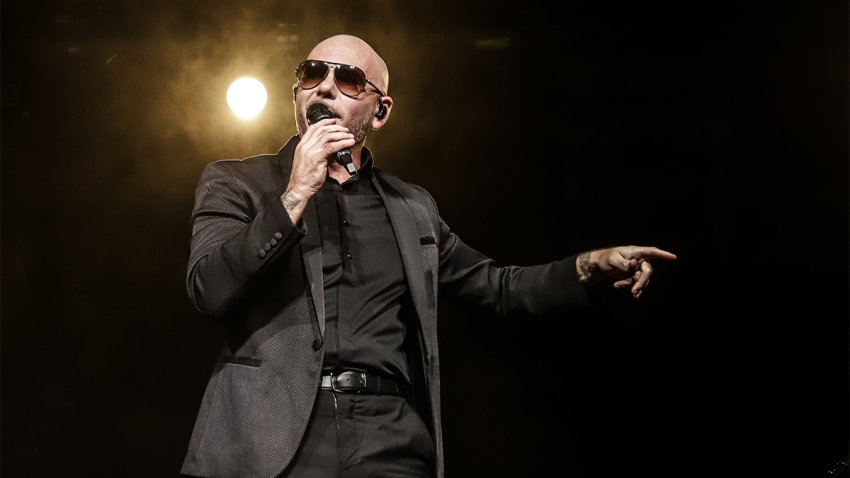 Pitbull is giving back during the pandemic