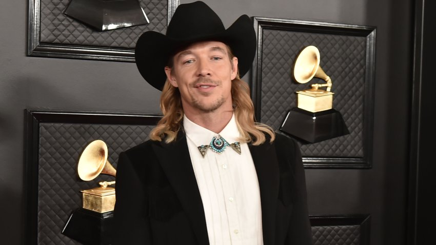 In this Jan. 26, 2020, file photo, Diplo attends the 62nd Annual Grammy Awards at Staples Center in Los Angeles, California.