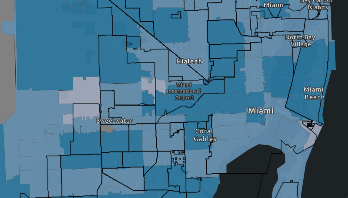 New Department Of Health Map Allows Users To See Covid 19 Cases By Zip Code Nbc 6 South Florida
