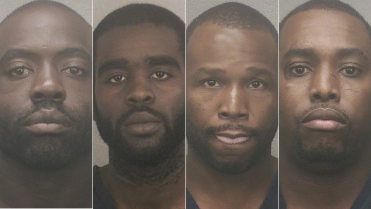 Four robbery suspects Miami
