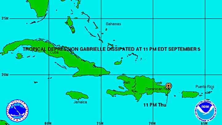 Gabrielle 11 pm Thursday