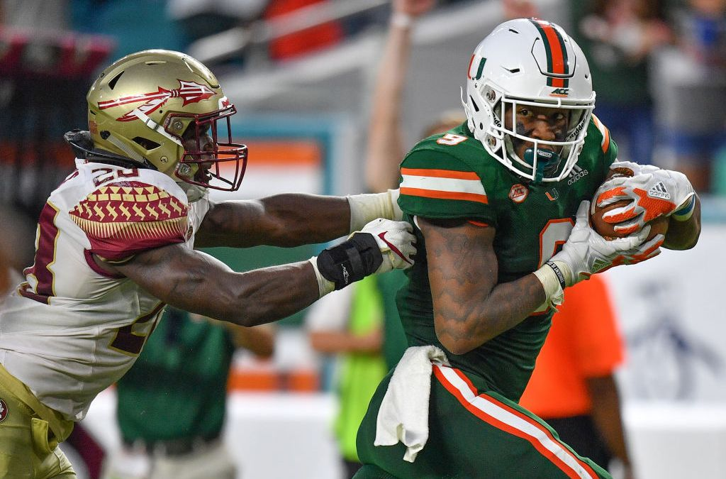 Acc Releases 2020 Football Schedules For Miami Hurricanes Fsu Seminoles Nbc 6 South Florida