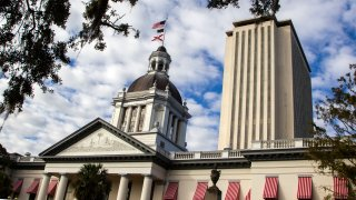 ld Florida State Capitol building, which sits in front of the current New Capitol