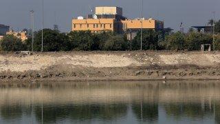 US Embassy building in Baghdad