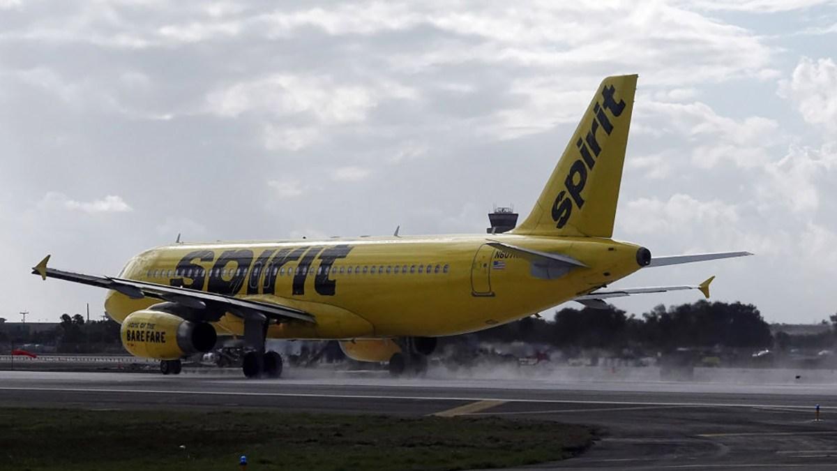 Elderly Woman Dies on Spirit Airlines Flight After Departing Fort Lauderdale