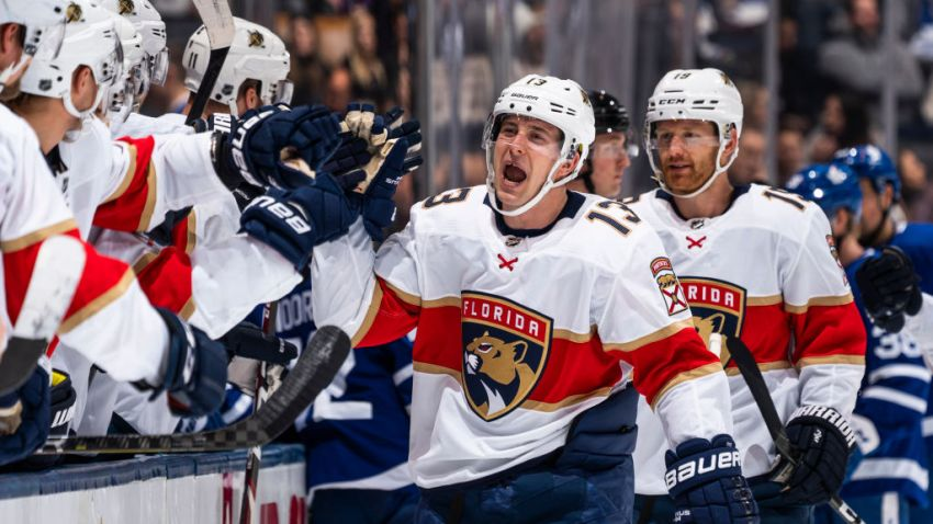 Pysyk Scores 3 Times as Florida Panthers Beat Toronto Maple Leafs ...