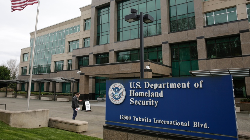 The U.S. Department of Homeland Security in Tukwila, Washington.