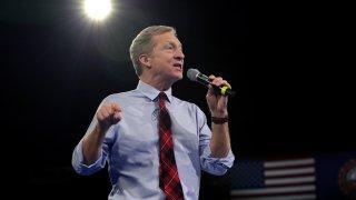Democratic presidential candidate Tom Steyer