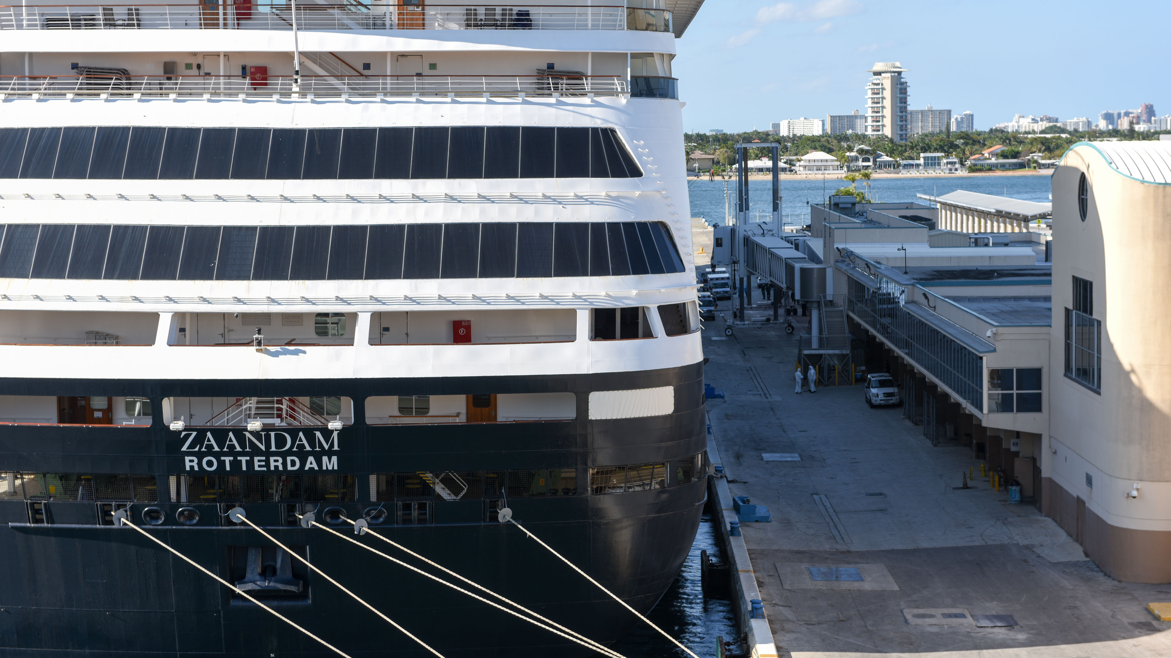 Ill-Fated Cruise Ships With Coronavirus Patients Dock in Port Everglades