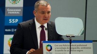 former Mexican Secretary of Public Safety Genaro Garcia Luna
