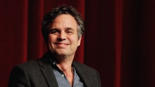 """In this Jan. 11, 2016, file photo, Mark Ruffalo attends SAG-AFTRA Foundation Conversations Series for """"Spotlight"""" at DGA Theater in Los Angeles, California."""