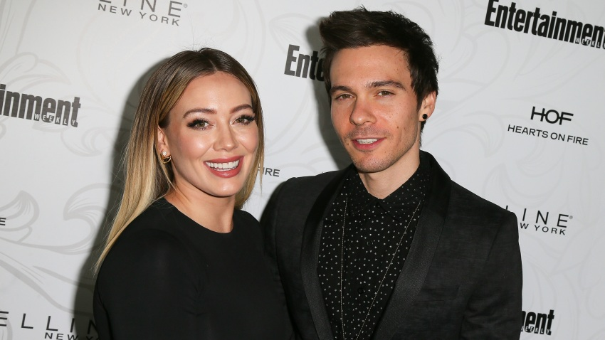 Hilary Duff and Matthew Koma