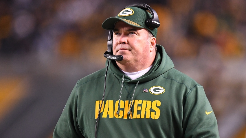 Head Coach Mike McCarthy of the Green Bay Packers looks on from the sidelines in the first half during the game against the Pittsburgh Steelers at Heinz Field on November 26, 2017 in Pittsburgh, Pennsylvania.