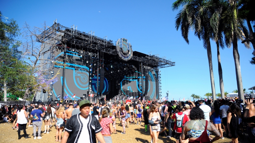 General view of atmosphere at Ultra Music Festival