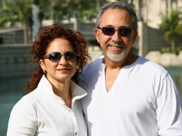 Gloria Estefan and Emilio