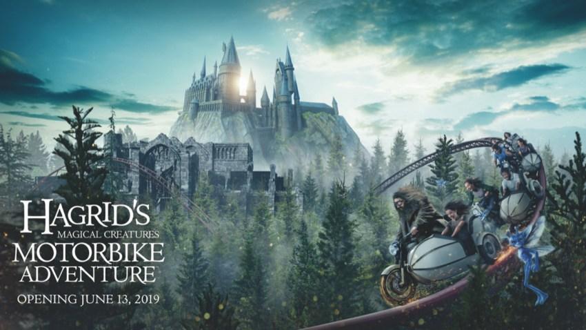 Hagrid's Magical Creatures Motorbike Adventure