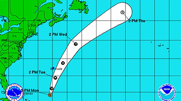 Hurricane Rafael 645 pm Monday