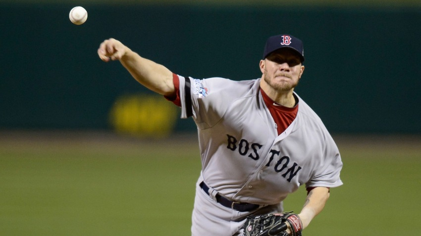 Jake Peavy Boston Red Sox