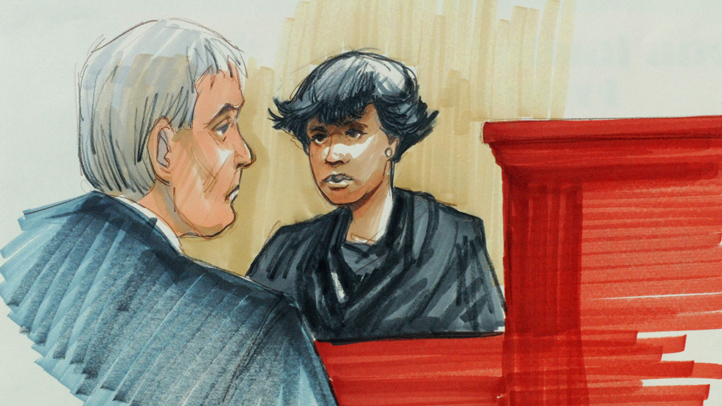 Jennifer Hudson Court Sketch