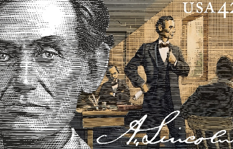 Lincoln-Stamp