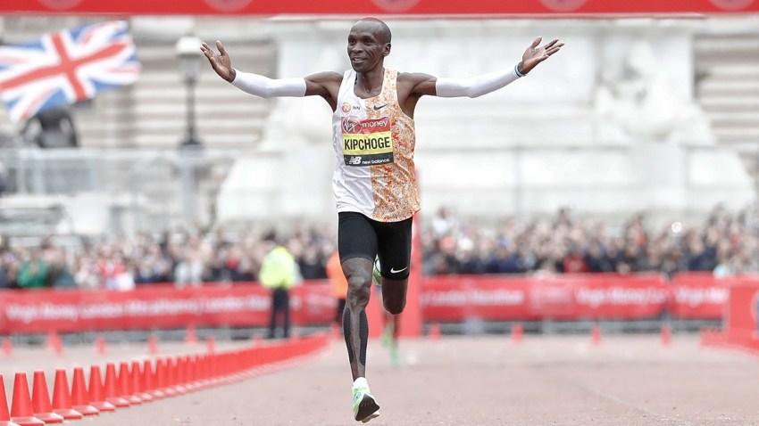 APTOPIX Britain London Marathon