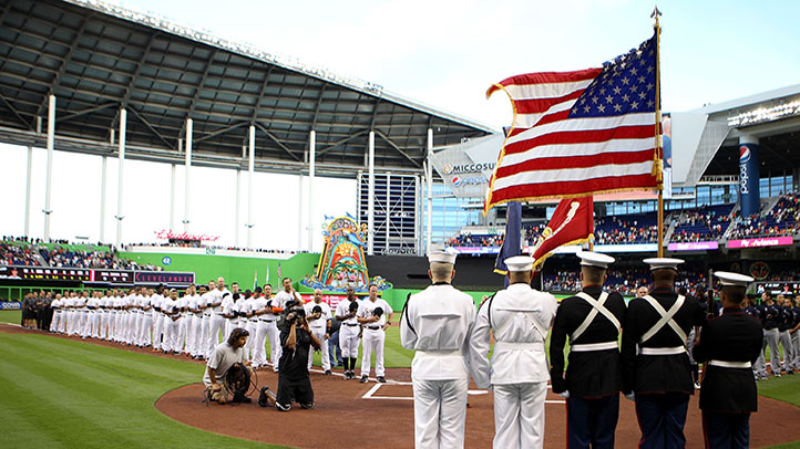 Marlins Opening Day 2013