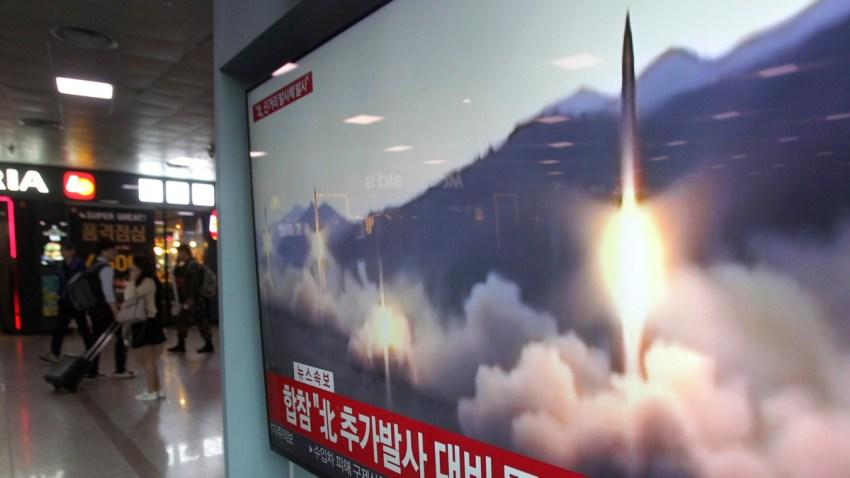 North Korea Projectile