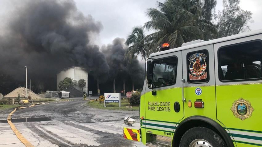 Nov 17 19 Miami Dade Warehouse Fire Thumb