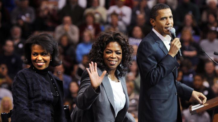 Oprah and Obama