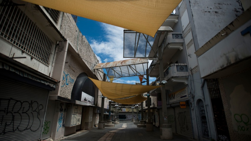 Shrinking Puerto Rico