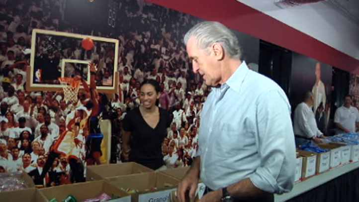 Pat Riley care packages
