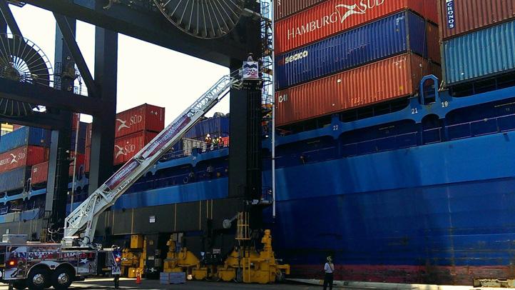 Port Everglades technical rescue