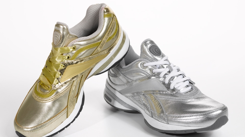 Reebok EasyTone Gold and Silver