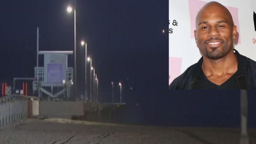 A body was found near a lifeguard tower in Venice Beach.