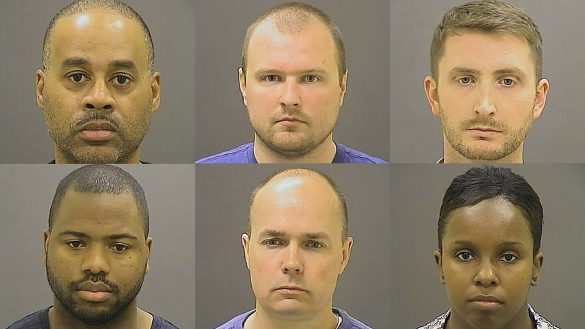 Six Officers Charged in Baltimore