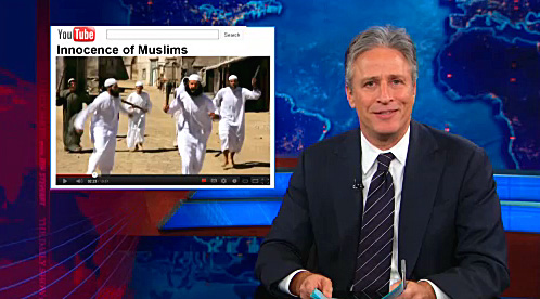 Stewart Innocence of Muslims