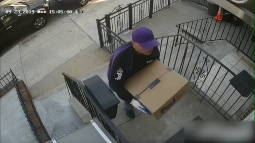 Surveillence BK Fake FedEx