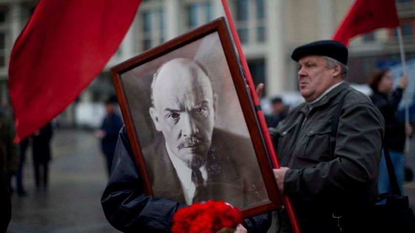 APTOPIX Russia Bolshevik Revolution