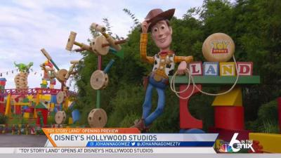 Toy Story Land Opens at Disney's Hollywood Studios – NBC 6