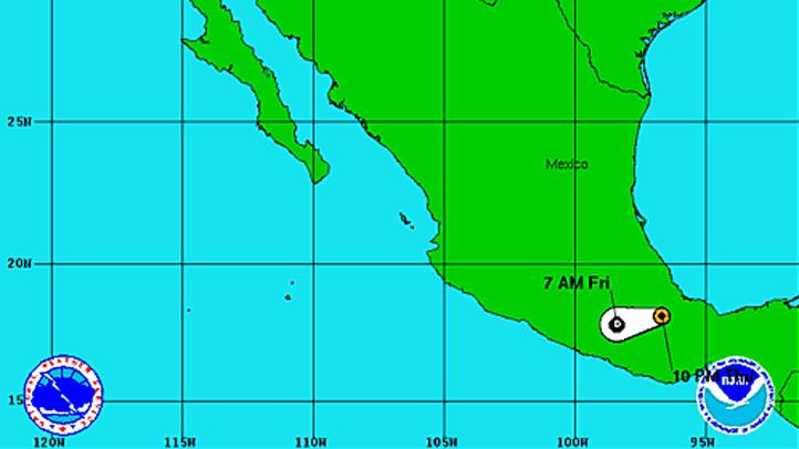 Tropical Storm Ernesto 11 pm Thursday