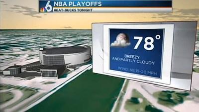 White Hot Weather Forecast–Tuesday April 23, 2013 – NBC 6