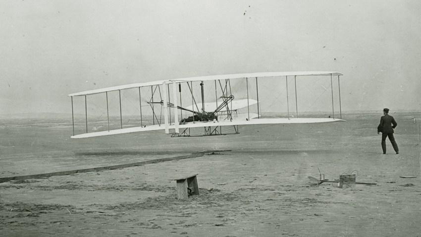 Wright Brothers Kitty HAwk First Flight