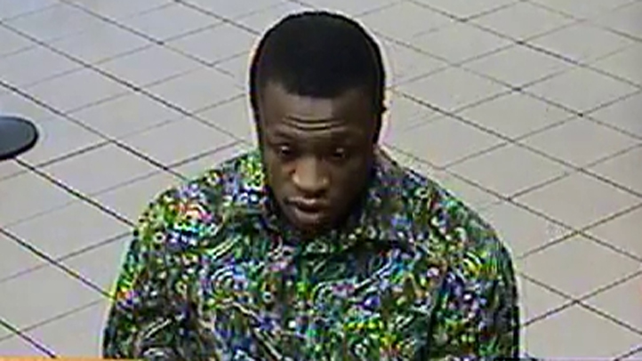 alleged bank of america robbery