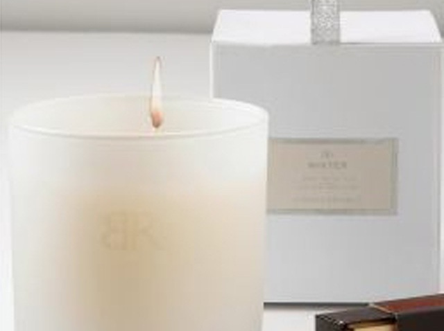 banana republic winter candle
