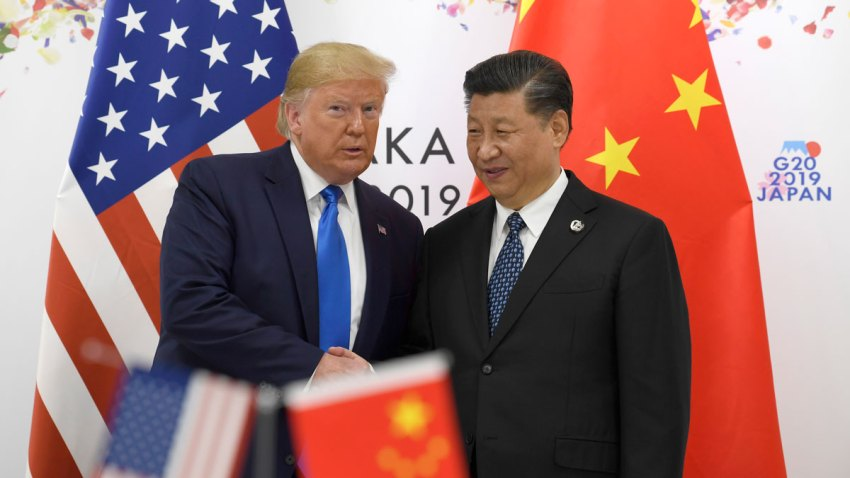 APTOPIX Trump US China