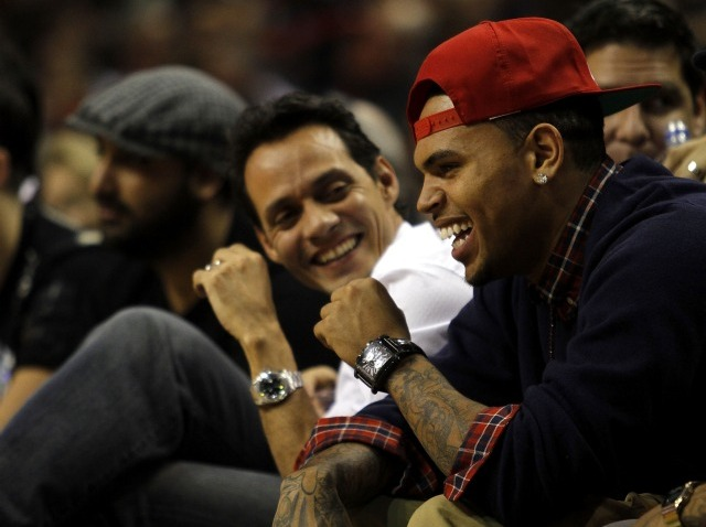 chris brown marc anthony