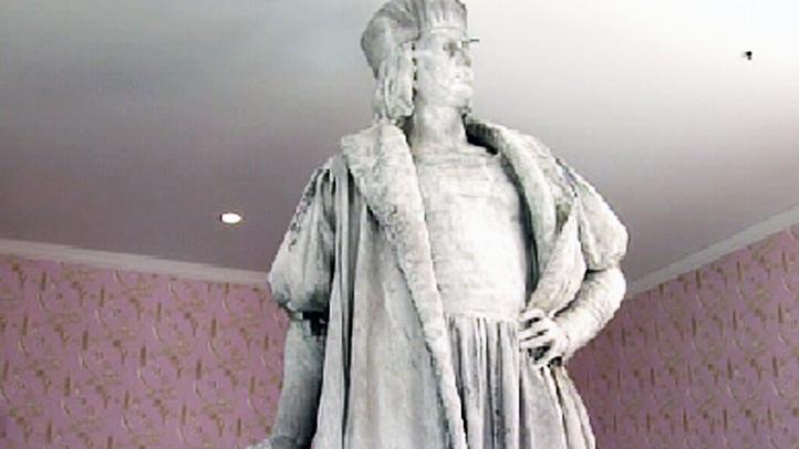christopher columbus statue art