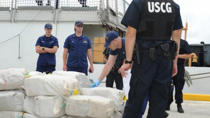 coast guard marijuana bust