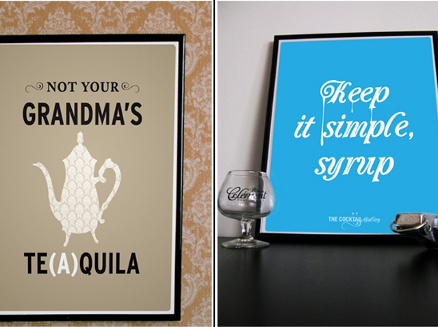 cocktail gallery posters
