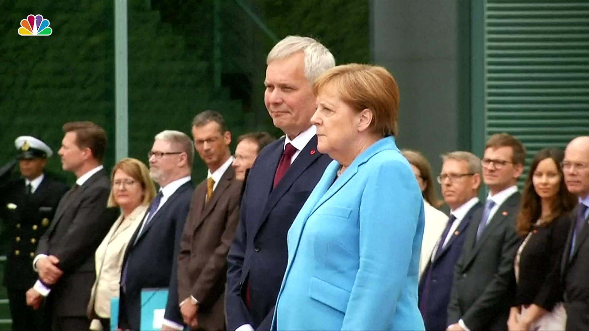 Angela Merkel Topless angela merkel seen shaking for 3rd time – nbc 6 south florida